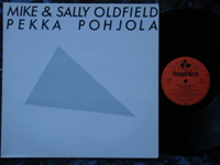 1981 Mike & Sally Oldfield, Pekka Pohjola B90096 Holland.