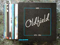 1984 Mike Oldfield 1972 - 1984 15-5093 LIMITED EDITION.