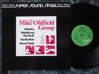 1982 The Mike Oldfield Group: Mistake / (Waldberg) The Peak / Family Man / Mount Teide 600690.