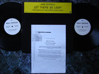 1995 Double Pack: Let There Be Light SAM1650 PROMO + INFO SHEET.