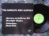 1985 The Complete: Obertura de Guillermo Tell / Moonlight Shadow / Ommadawn / Mount Teide VP020 PROMO.