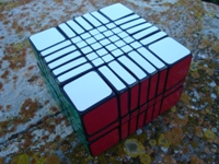 3x7x7 Centimeter Cubes Extended.