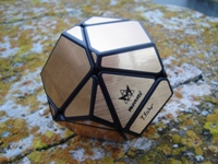 Tony Fisher Golden Dodecahedron.