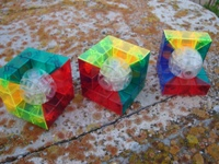 Moyu Geometric Cube (3 different versions).