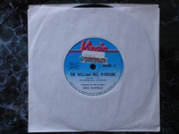 1976 William Tell Overture / Portsmouth 6079201 PROMO (promo sticker).