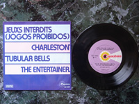 1974 (Jean Zola et son Orchestra: Jeuxs Interdits) / (Enoch Light: Charleston) / Tubular Bells / (The Down Beats: The Entertainer) CD3691 PROMO.