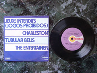 1974 (Jean Zola et son Orchestra: Jeuxs Interdits) / (Enoch Light: Charleston) / Tubular Bells / (The Down Beats: The Entertainer) CD3691.