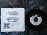 1974 Tubular Bells / Tubular Bells VR-55100 PROMO (SP label).
