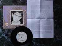 1987 Islands / The Wind Chimes (Part 1) VS990 + SPANISH INFO SHEET.