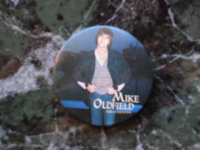 Mike Oldfield Incantations badge.