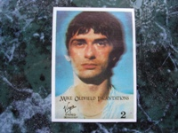 Mike Oldfield Card (Incantations).