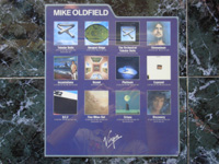 Mike Oldfield Divider (blue).