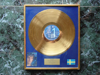 Discovery Gold Award Sweden 1985.